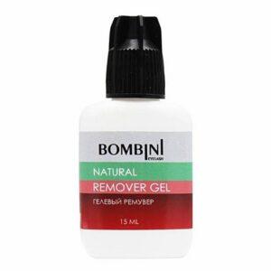 Ремувер гелевый Bombini Natural, 15 мл