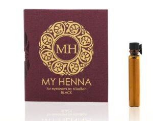 Хна для окрашивания бровей My Henna