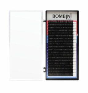 Ресницы Bombini изгиб D 0,07 – MIX (9-12)