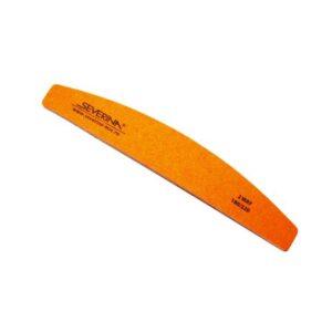 Пилка для ногтей полимерная 180/220 прямая, Severina